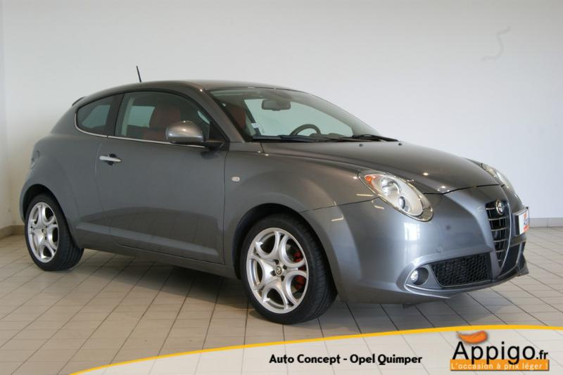 voiture d occasion alfa romeo mito 1 6 jtd 16v s lective berline quimper 7990. Black Bedroom Furniture Sets. Home Design Ideas