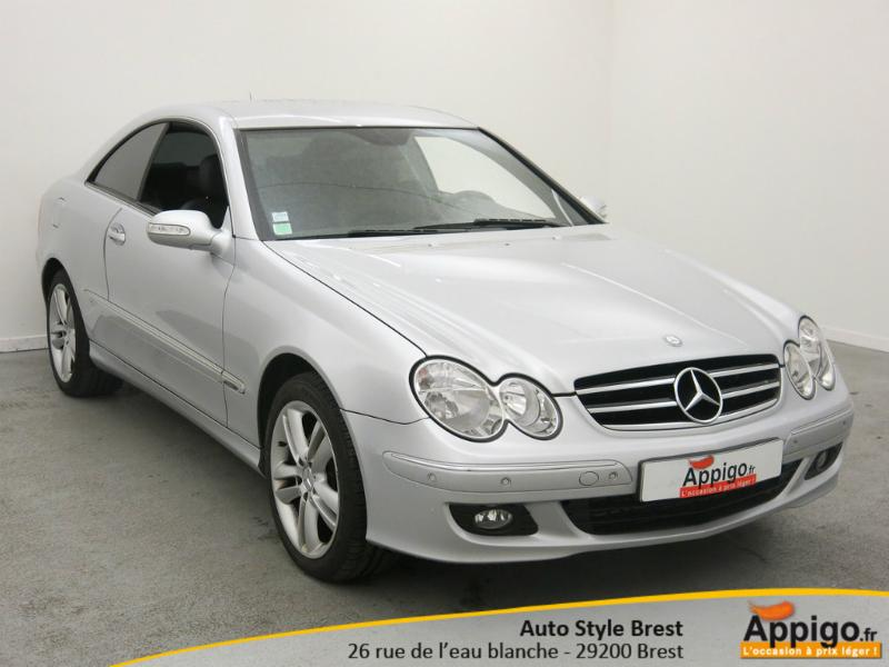 voiture d occasion mercedes benz clk 220 cdi brest 14990. Black Bedroom Furniture Sets. Home Design Ideas