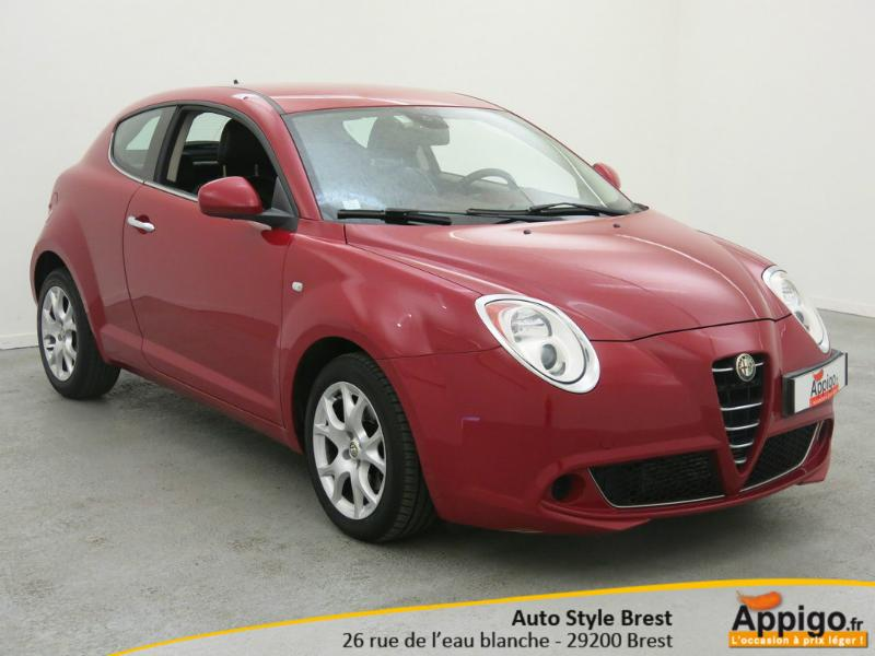 alfa romeo mito 1 3 jtdm95 16v distinctive stop start. Black Bedroom Furniture Sets. Home Design Ideas