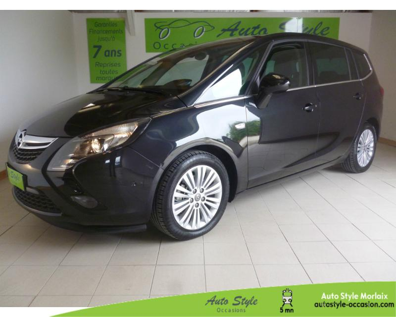 voiture d occasion opel zafira tourer 1 4 turbo 140ch ecoflex cosmo pack start stop 7 places. Black Bedroom Furniture Sets. Home Design Ideas