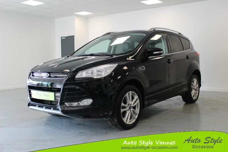 voiture d occasion ford kuga 2 0 tdci 150ch titanium 4x4 powershift break vannes 24990. Black Bedroom Furniture Sets. Home Design Ideas