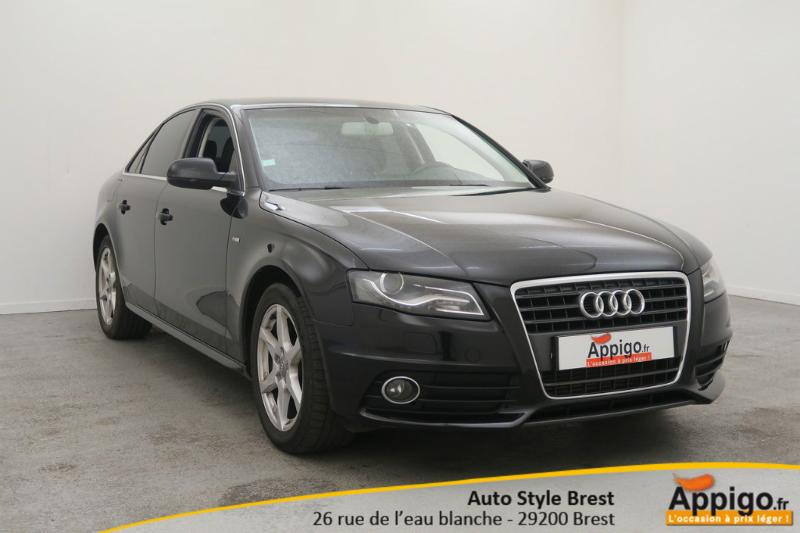 voiture d occasion audi a4 2 0 tdi 143ch dpf ambition luxe berline brest 15990. Black Bedroom Furniture Sets. Home Design Ideas