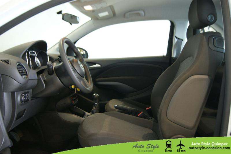 voiture d occasion opel adam 1 2 twinport 70ch berline quimper 6990. Black Bedroom Furniture Sets. Home Design Ideas