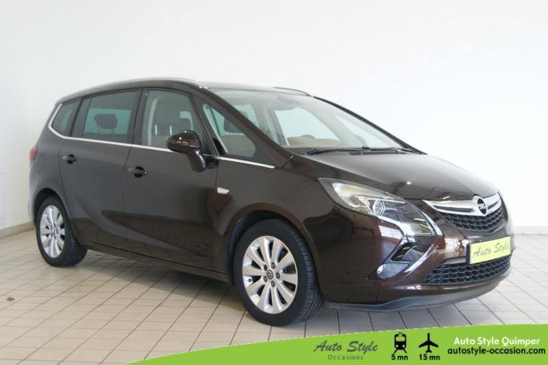 voiture d occasion opel zafira tourer 1 6 cdti 136ch ecoflex cosmo start stop 7 places monospace. Black Bedroom Furniture Sets. Home Design Ideas