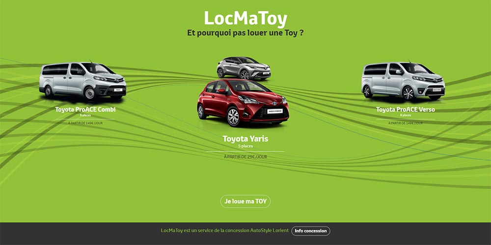 Service de location LocMaToy